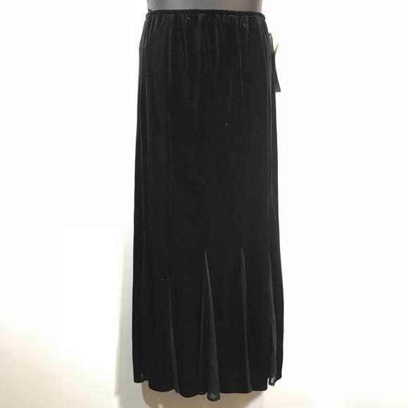 Sympathise Petite long black skirt have